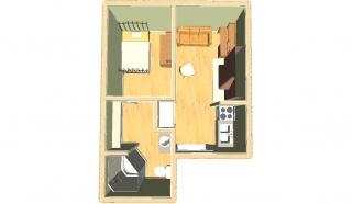 #2 Floor Plan 3D